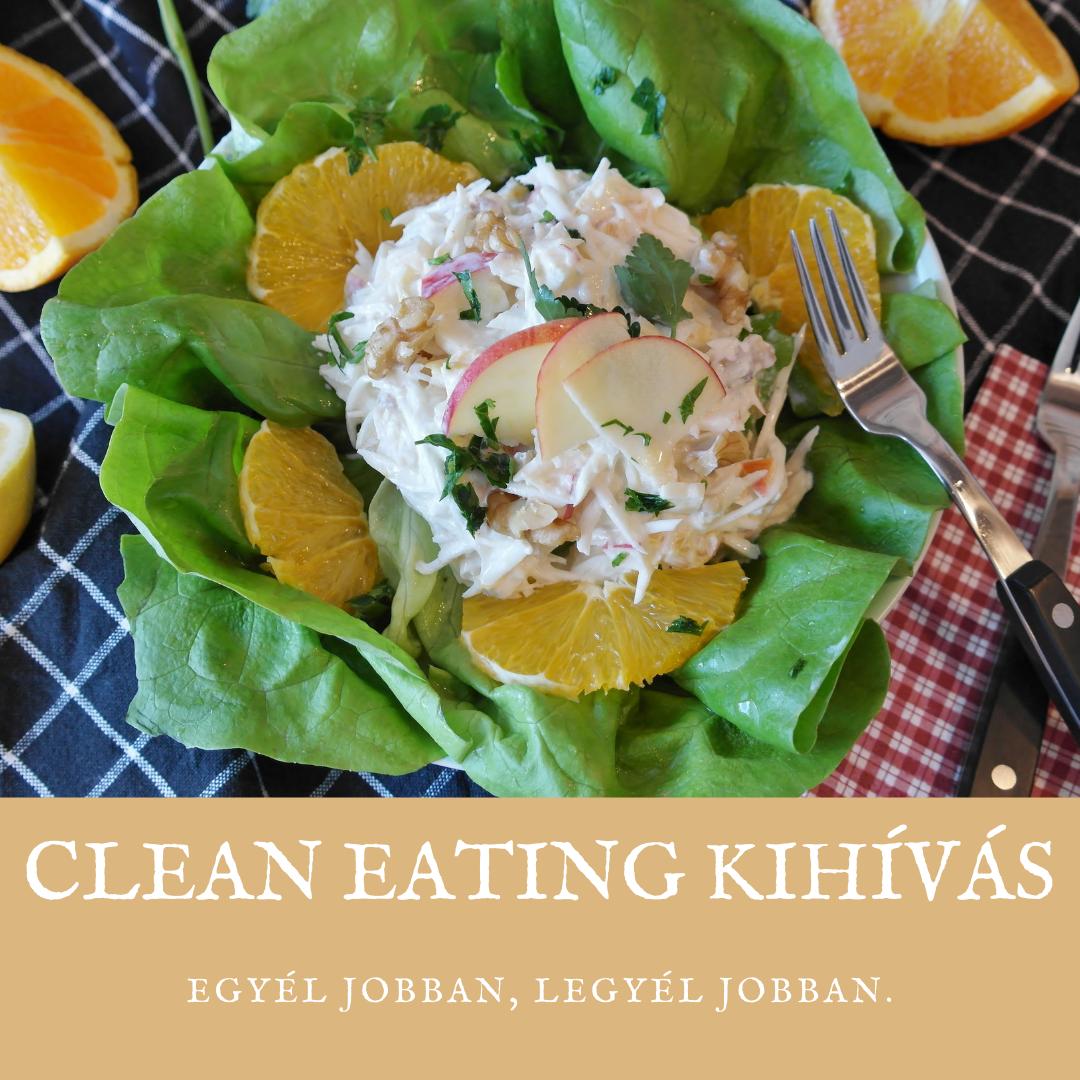 Clean Eating kihívás